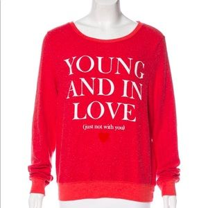 Wildfox Couture Sweatshirt/Sweater